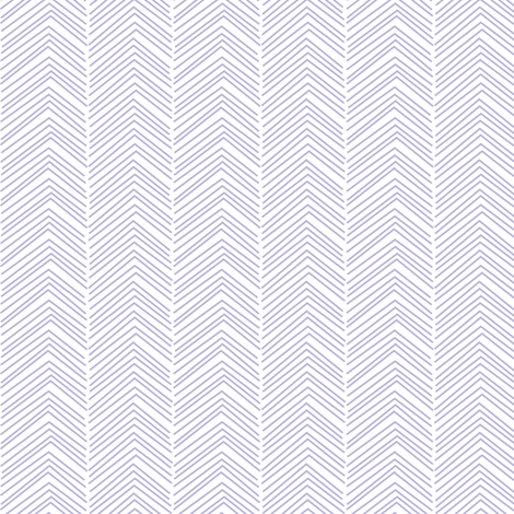 chevron ♥ light purple and white fabric by misstiina on Spoonflower - custom fabric