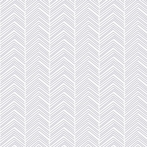 chevron ♥ light purple and white