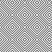 black + white diamonds squares