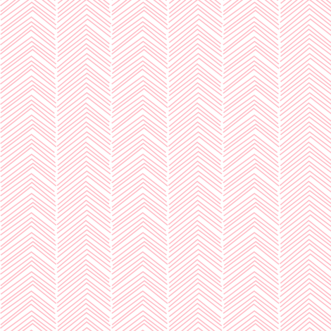 chevron ♥ light pink fabric by misstiina on Spoonflower - custom fabric