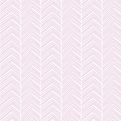 chevron ♥ light pink and white fabric by misstiina on Spoonflower - custom fabric