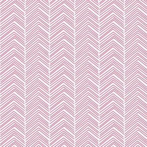 chevron ♥ hot pink