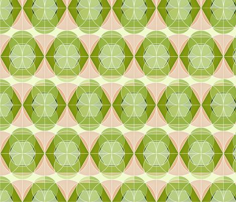 Retro geometric 1 fabric by heleenvanbuul on Spoonflower - custom fabric