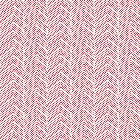 chevron ♥ red and white