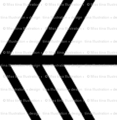 black + white chevron zigzags horizontal