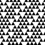 black + white geo go