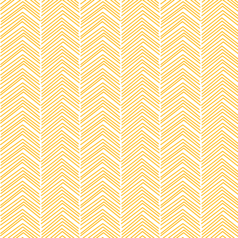 chevron ♥ pumpkin orange and white fabric by misstiina on Spoonflower - custom fabric
