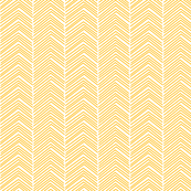 chevron ♥ pumpkin orange and white