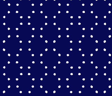 cestlaviv_indigo dots fabric by cest_la_viv on Spoonflower - custom fabric