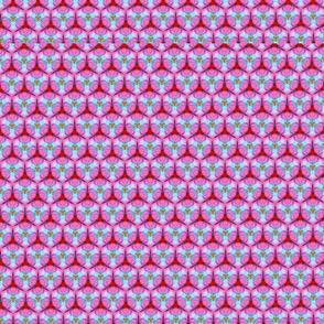 Pink Peony Honeycomb