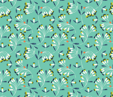 spring has sprung fabric by bethan_janine on Spoonflower - custom fabric