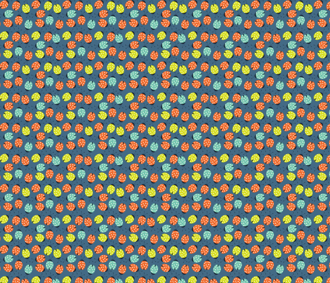 ladybird spots fabric by bethan_janine on Spoonflower - custom fabric