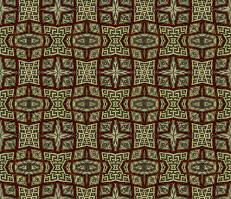 Moroccan_print1-ed-ed fabric by penelopeventura on Spoonflower - custom fabric