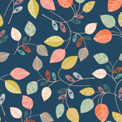 patterned leaves