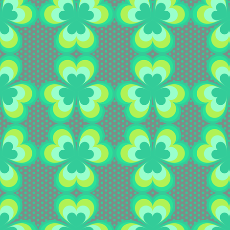Shamrock Waltz fabric by veritymaddox on Spoonflower - custom fabric
