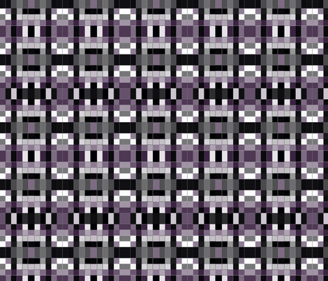 Plum Check Mosaic © Gingezel™ 2013