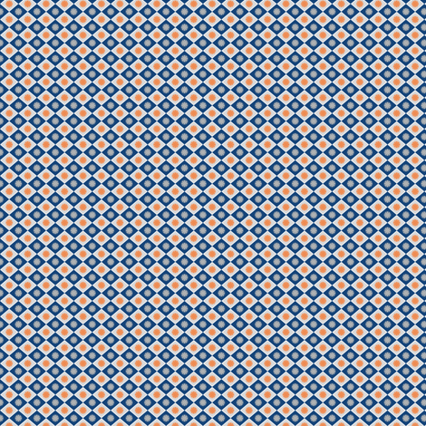 Diamond_MonacoBlue_small fabric by vannina on Spoonflower - custom fabric