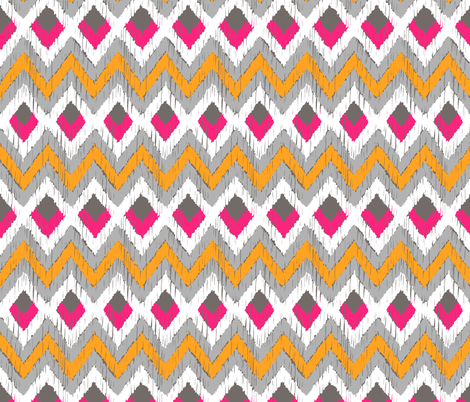 NATIVO SUNSET fabric by marcador on Spoonflower - custom fabric