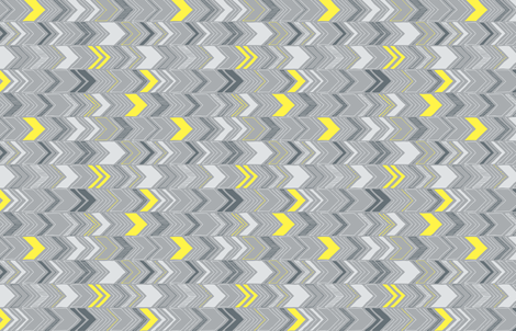 Chevron - gray fabric by flytrap on Spoonflower - custom fabric