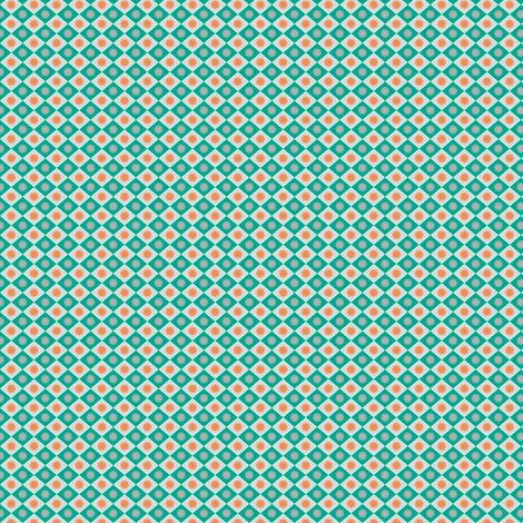 Diamond_Emerald_small fabric by vannina on Spoonflower - custom fabric
