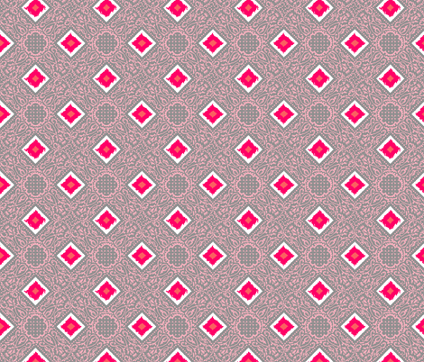 EXOTICO - coral blush fabric by marcador on Spoonflower - custom fabric