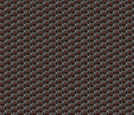 Dizzy2 fabric by knita on Spoonflower - custom fabric