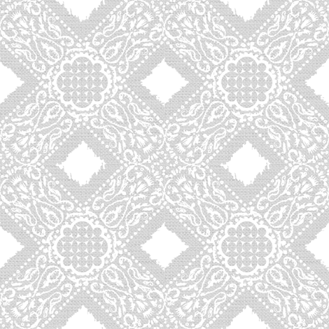 EXOTICO - grey and white fabric by marcador on Spoonflower - custom fabric