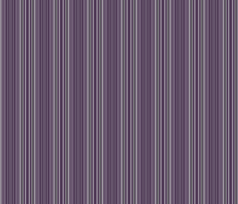 Plum Multistripe © Gingezel™ 2013 fabric by gingezel on Spoonflower - custom fabric