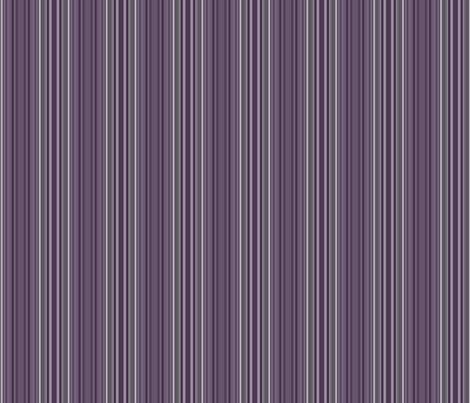Plum Multistripe © Gingezel™ 2013 fabric by gingezel on Spoonflower - custom fabric