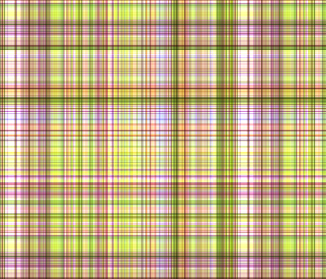 """Smart Girl Plaid"" fabric by jeanfogelberg on Spoonflower - custom fabric"