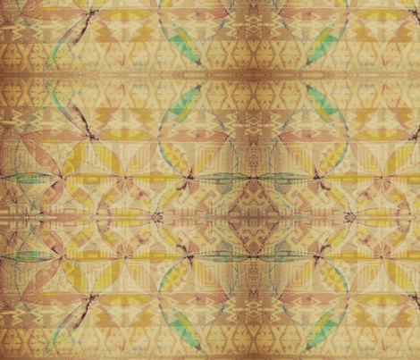 Golden Print fabric by highonsunshinevibes on Spoonflower - custom fabric