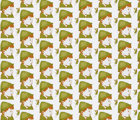 Peter Pan  fabric by janshackelford on Spoonflower - custom fabric