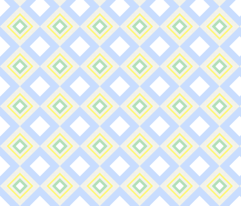 Hide and Seek / linen block fabric by paragonstudios on Spoonflower - custom fabric