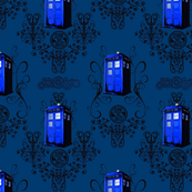 TARDIS Travels in Blue