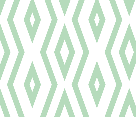 an_mint_lines fabric by adrianne_nicole on Spoonflower - custom fabric