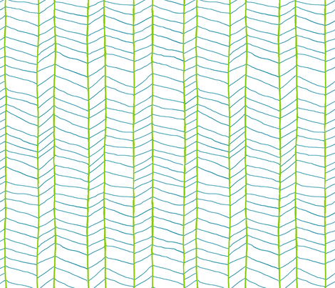 Modern Herringbone fabric by jennjersnap on Spoonflower - custom fabric