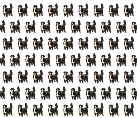 Bernese Alexa_in_snow fabric by nshuber on Spoonflower - custom fabric