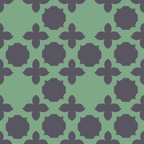 green_grey medallion