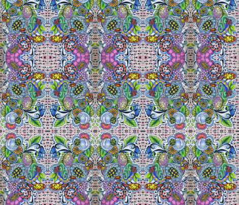 egg_hunt_zen_psp_2 fabric by zen_doodler on Spoonflower - custom fabric