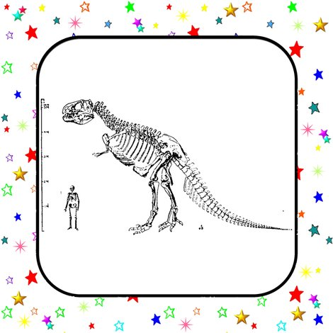 Quilt_block_stars_t_rex_skeleton_shop_preview