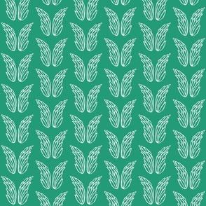 Sketchy Basics - Angel Wings (Half Brick Repeat)