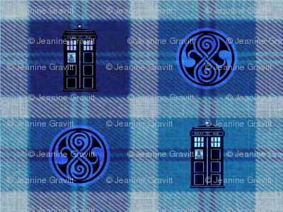 A Tardis Plaid