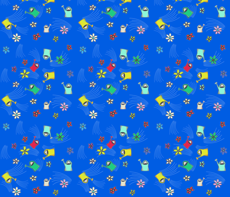 gardening_tools_4 fabric by isabella_asratyan on Spoonflower - custom fabric