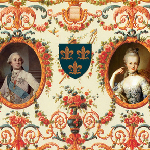 Rococo Lovers ~ Louis XVI and Marie Antoinette