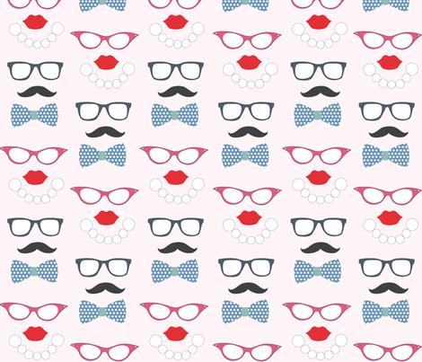 geek_chic fabric by jaquelina on Spoonflower - custom fabric