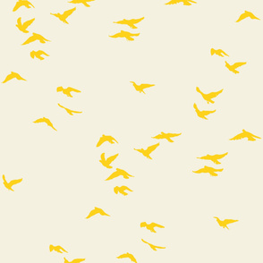 Sunshine Flock Reversed