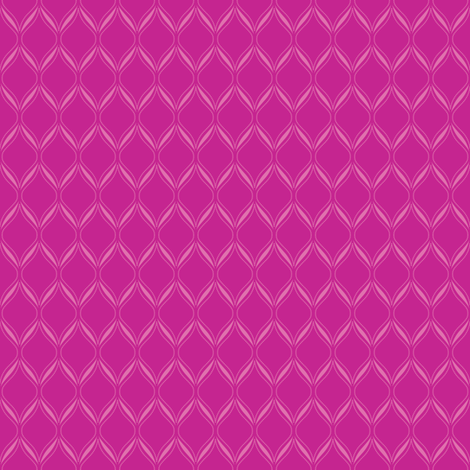 Pink Ogee fabric by robyriker on Spoonflower - custom fabric