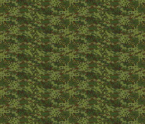 1/6 Scale Oak Multicam Camo fabric by ricraynor on Spoonflower - custom fabric