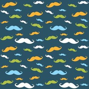 Multi-color mustache