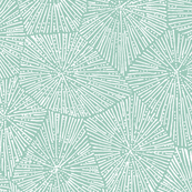 petoskey-stone pattern, white on mint blue